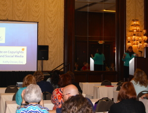 Kathy Ossian presents legal update at AST Conference
