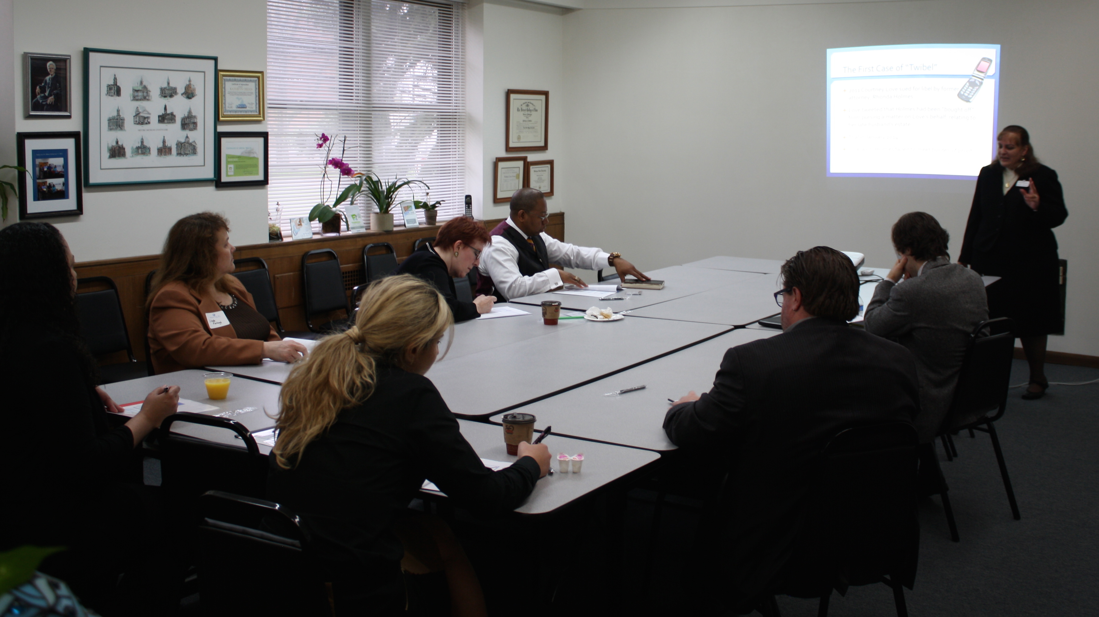 "Thanks to everyone who came out for the May 15th presentation ""Twibel and Other Online Defamation"" -- a great discussion on an interesting topic!"